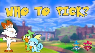 How to Pick Your Starter Pokémon in Pokémon Sword and Shield