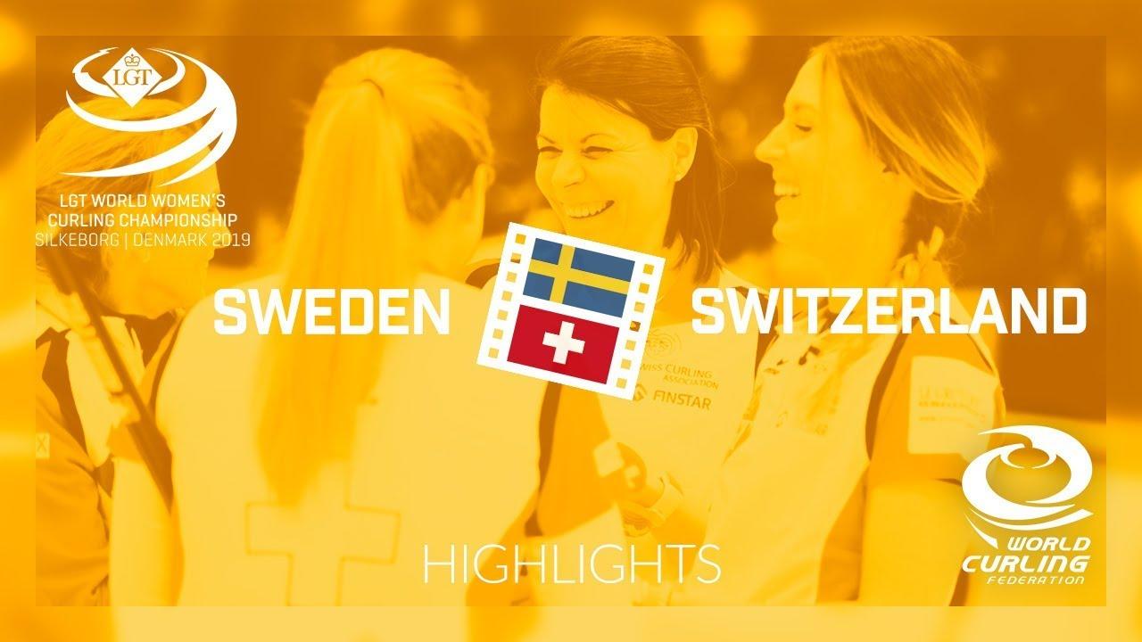 HIGHLIGHTS: Sweden v Switzerland - gold medal game - LGT World Women's  Curling Championship 2019