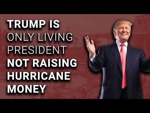 Trump Golfs While 5 Presidents Raise Money for Hurricane Victims