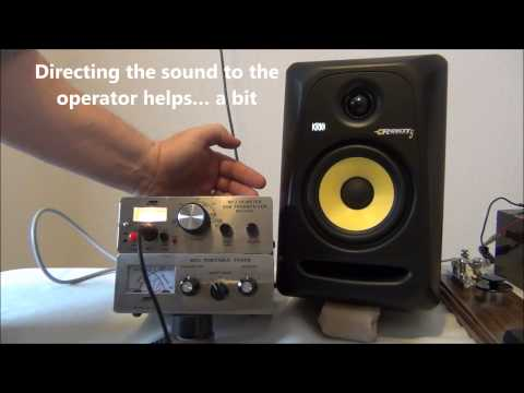 Use a Studio Monitor to improve the audio of your radio - AF5DN