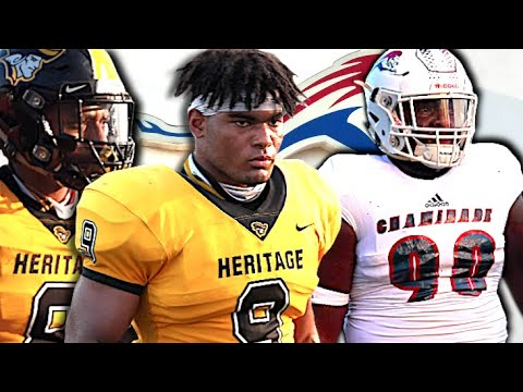 🔥🔥 Defensive Battle Between 2 Of South Florida's Top Programs American Heritage V Chaminade-Madonna