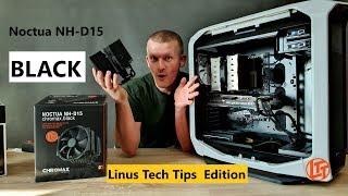 #Noctua NH-D15 chromax.black unboxing /Linus Tech Tips edition/
