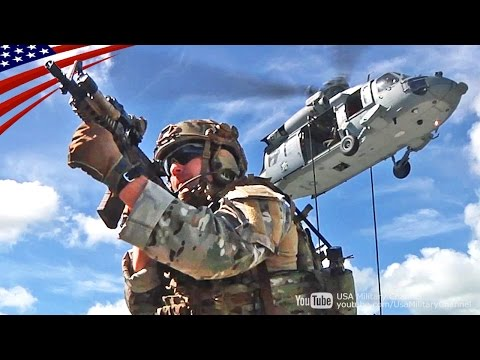 """アメリカ沿岸警備隊の特殊部隊「MSST」のヘリ降下・突入・臨検デモンストレーション - US Coast Guard Special Forces """"MSST"""" VBSS Demonstration"""