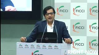 arnab goswami latest speech at ficci ladies ogranisation republic tv part 1