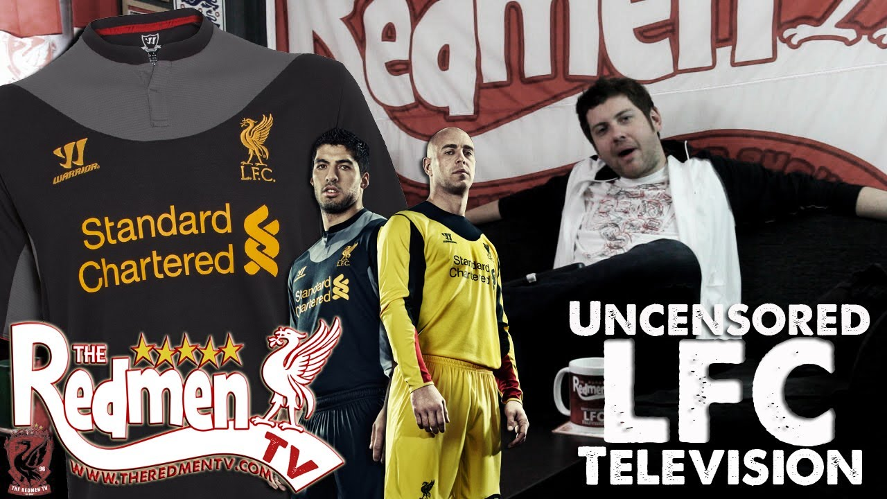 d3d469431fb Liverpool FC s Warrior AWAY Kit Revealed! - YouTube