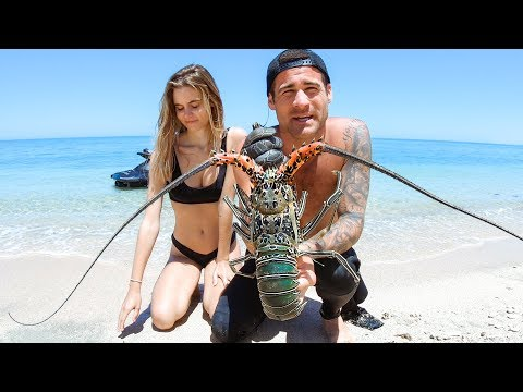 YBS Lifestyle Ep 26 - Crayfish Catch And Cook With Amberleigh West