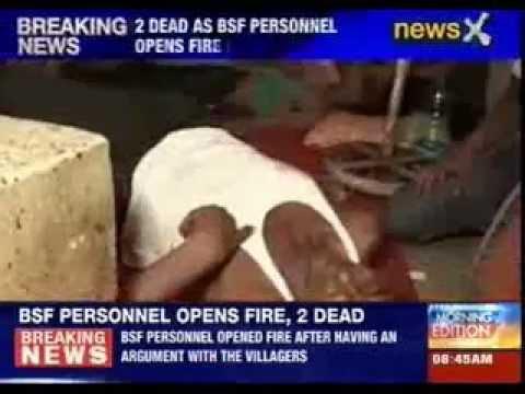 Two dead as BSF personnel opens fire in Agartala