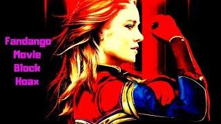 The Captain Marvel Fandango Theater Showtime Hoax