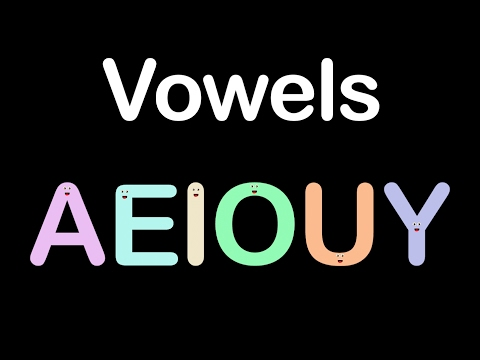 Vowels/Vowel Song