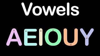 Vowels/Vowel Song