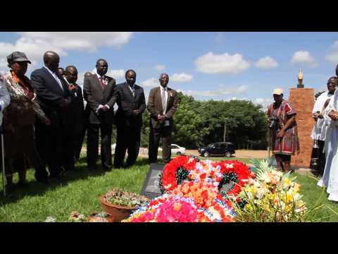 Gen Josiah Magama Tongogara memorial service at the National Heroes Acre    By tawanda Mudimu