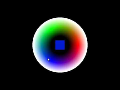 OpenGL Color Picker