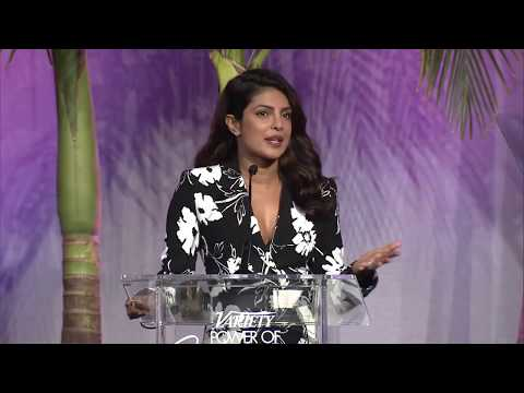 Priyanka Chopra describes her first negative experience working as a woman in Hollywood
