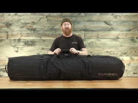 2017 Dakine High Roller Snowboard Bag Review - TheHouse.com - YouTube 0853aa9af2a42