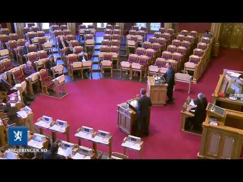 Muntlig spørretime på Stortinget