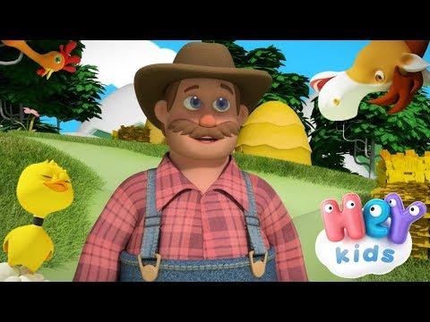 Dedemin Bir Çiftliği Var 🐓 Hayvanları Öğreniyoruz 🐱 HeyKids - Bebek Şarkıları