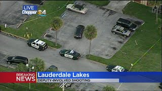 BSO Confirms Deputy-Involved Shooting In Lauderdale Lakes