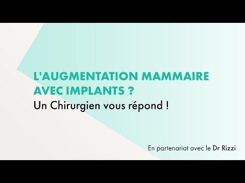 L'augmentation Mammaire Avec Implants - Un Chirurgien Vous Répond !