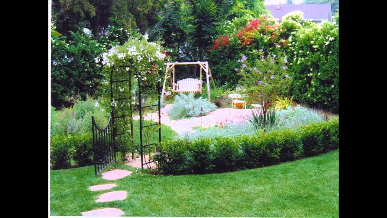 Small cottage garden ideas - YouTube