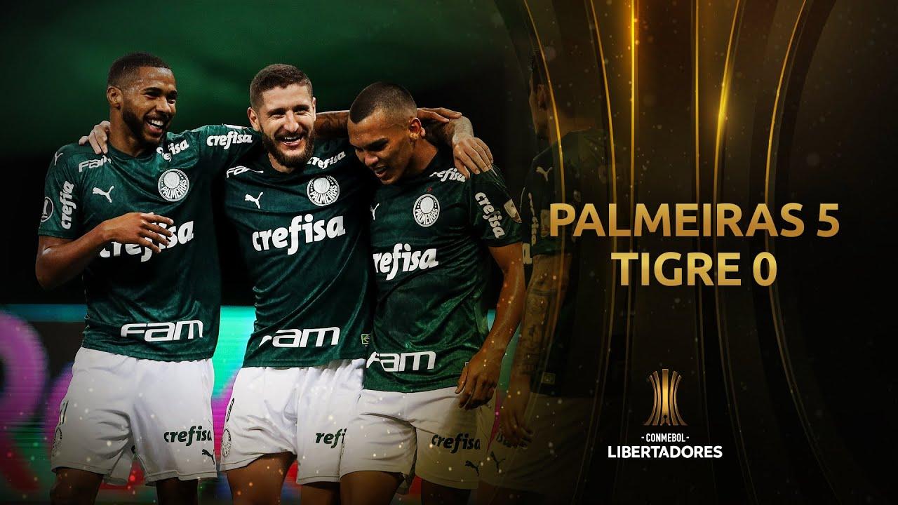 Palmeiras vs. Tigre [5-0] | RESUMEN | Fase de Grupos | CONMEBOL Libertadores