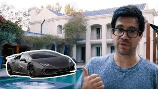Hanging Out At Tai Lopez's Mansion...