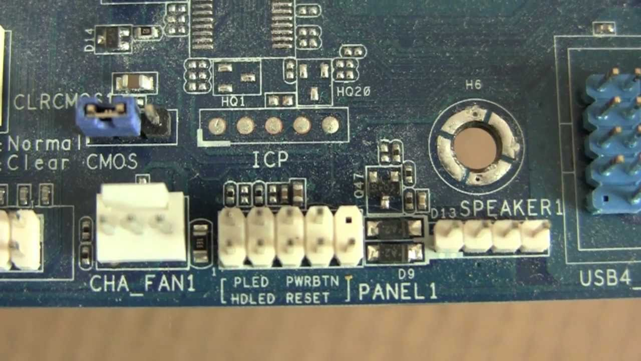 maxresdefault front panel stecker beim mainboard youtube  at crackthecode.co