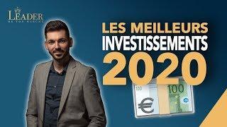 Comment investir son argent en 2020 - Les conseils de Jonathan Nowak