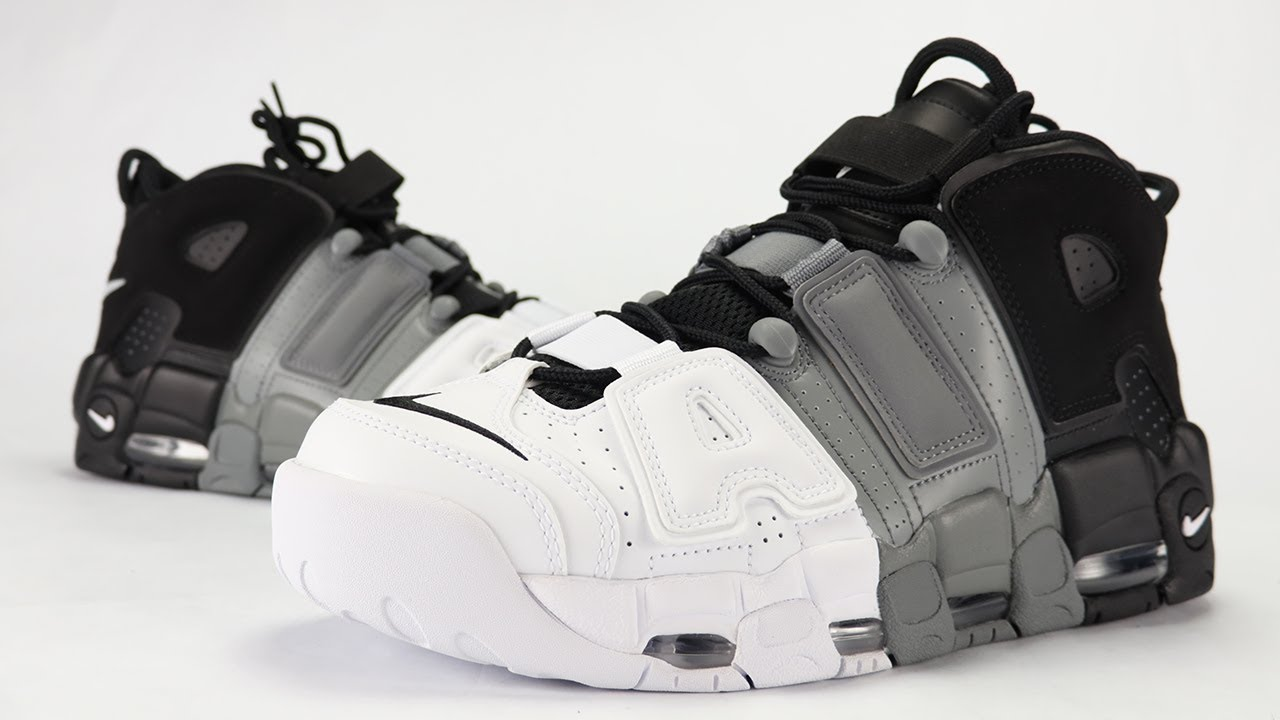df7e3851209d Nike Air More Uptempo Tri-Color More Air Review + On Feet - YouTube