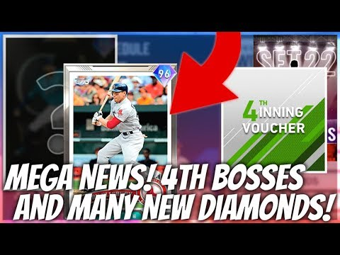 MEGA NEWS! 4th Inning Bosses REVEALED! TONS Of New Diamonds Coming! MLB The Show 20