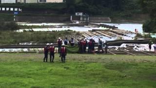 増水した多摩川に取り残され…女性救助の瞬間~その後~2015/7/20