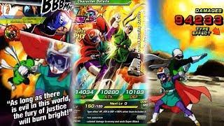 NEW LR Great Saiyaman 1&2 Super Attack Animations ★ DBZ Dokkan Battle Super Attack Animations