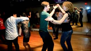 Matt Gresko & Cheri Williams Social Dance at Mr. Mambo