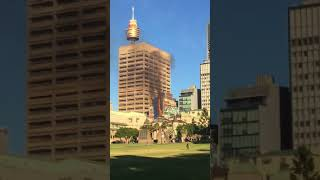 Sydney CBD Building Engulfed in Flames