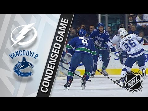 Tampa Bay Lightning vs Vancouver Canucks – Feb. 03, 2018 | Game Highlights | NHL 2017/18.Обзор матча