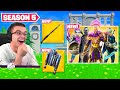 Nick Eh 30 reacts to SEASON 5 in Fortnite!