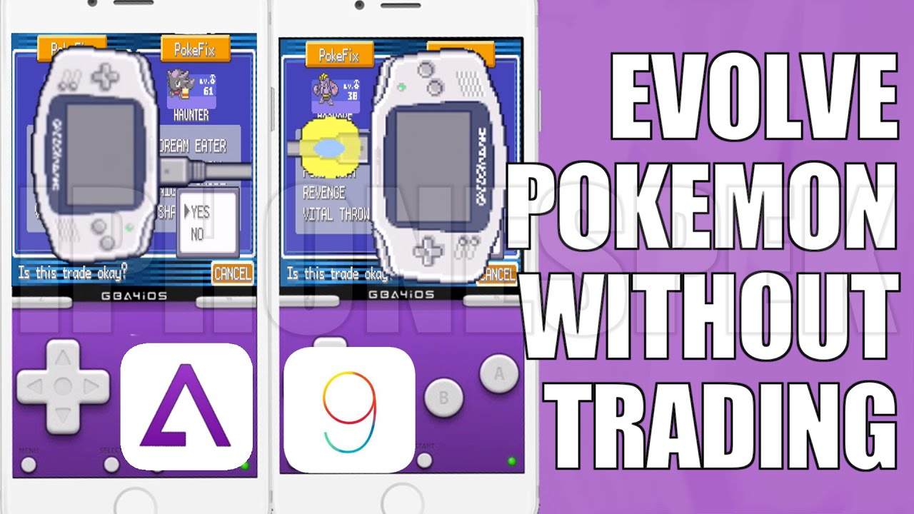 How to Evolve Pokemon Without Trading, Evolve Pokemon Without Having to  Trade GBA4IOS 2 1