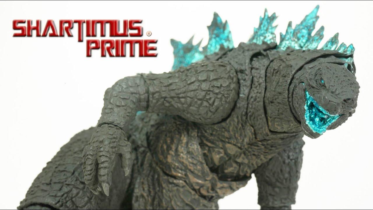 Download SH MonsterArts Godzilla 2021 Godzilla vs Kong Movie Bandai Tamashii Nations Spirits Figure Review