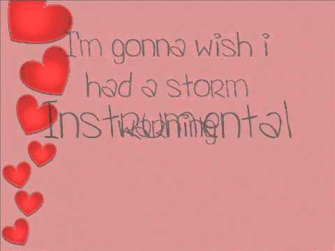 Hunter Hayes Storm warning lyrics