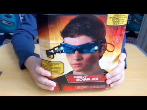 Распаковка Очки ночного видения SPY GEAR NIGHT GLASSES из Rozetka.com.ua