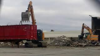 Tearing Down Sears, Roebuck  In Kokomo, Indiana