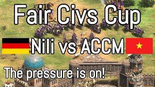Nili vs ACCM - Fair Civs Cup