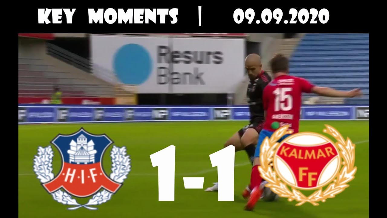 Helsingborg Kalmar All Goals 1 1 09 09 2020 Allsvenskan Round 19 Hd 1080p Youtube