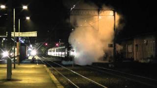 Parowóz 35 1019-5 z Pociągiem RETRO do Cottbus, Stacja Zielona Góra