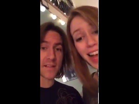 Matthew Mercer & Marisha Ray Unboxing D&D Miniatures after Critmas 2016-01-15 [SPOILERS E38]
