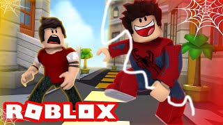 WE CAN TURN into Spiderman in ROBLOX!