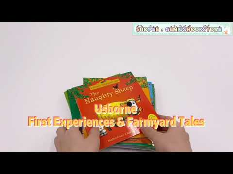 [ Genius Baby House ] Usborne First Experiences & Farmyard Tales BK1997