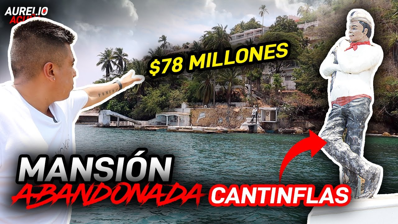 Cantinflas y su Misteriosa Mansion en Acapulco ☠️🔥