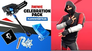 Fortnite-NEW PS PLUS PACK and IKONIK END