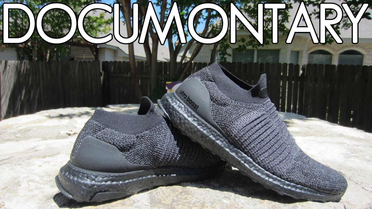 adidas Ultra BOOST Laceless Triple Black • Review   On-Feet + Sneakerboard   5e3622c5a