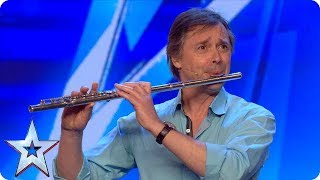 Watch flute player Simeon Wood play the CRUTCH! | Auditions | BGMT 2018